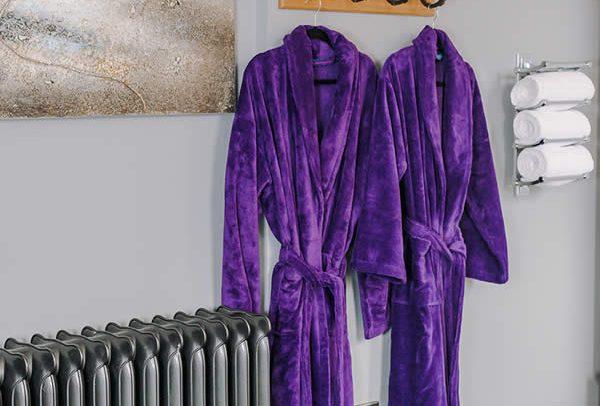Purple Night Gowns